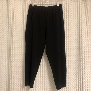 Black Vince Crop  Pants - Size S